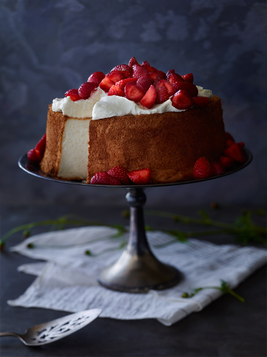 Bay Area Food Photographer | James Ellerker | Angel Food Cake