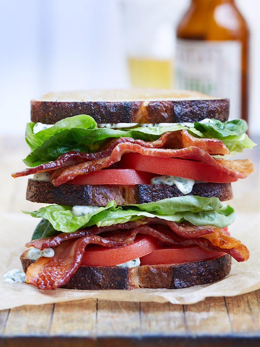 San Jose Restaurant Photographer | James Ellerker | BLT Sandwich