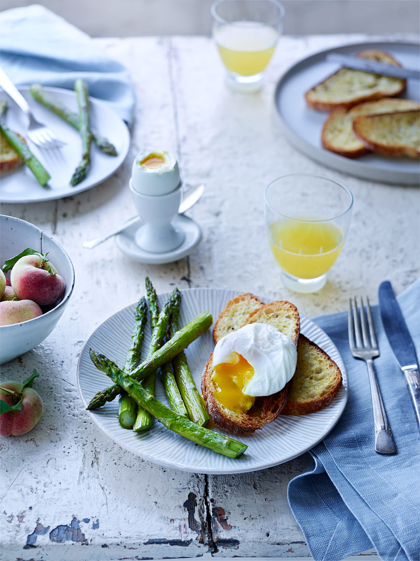 Oakland Food Photographer | James Ellerker | Poached egg breakfast