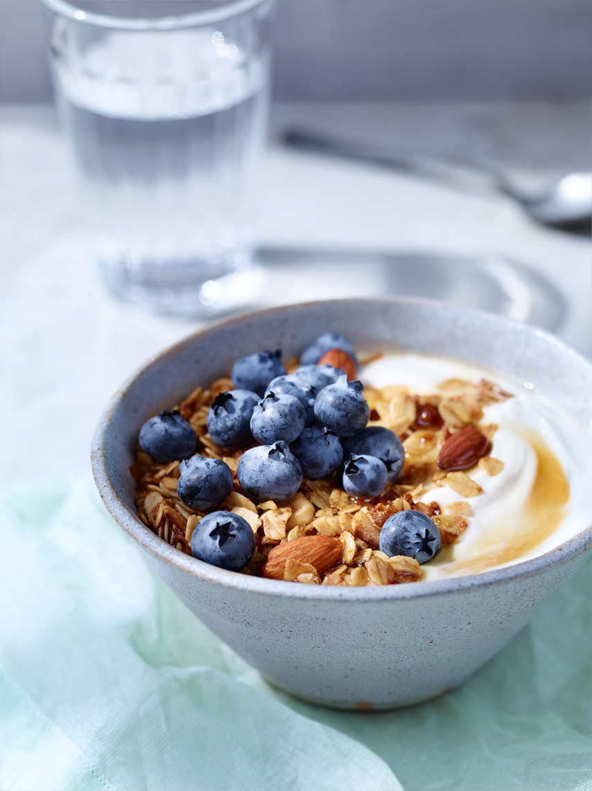 SF Commercial Food Photography | James Ellerker | Granola Yogurt Breakfast