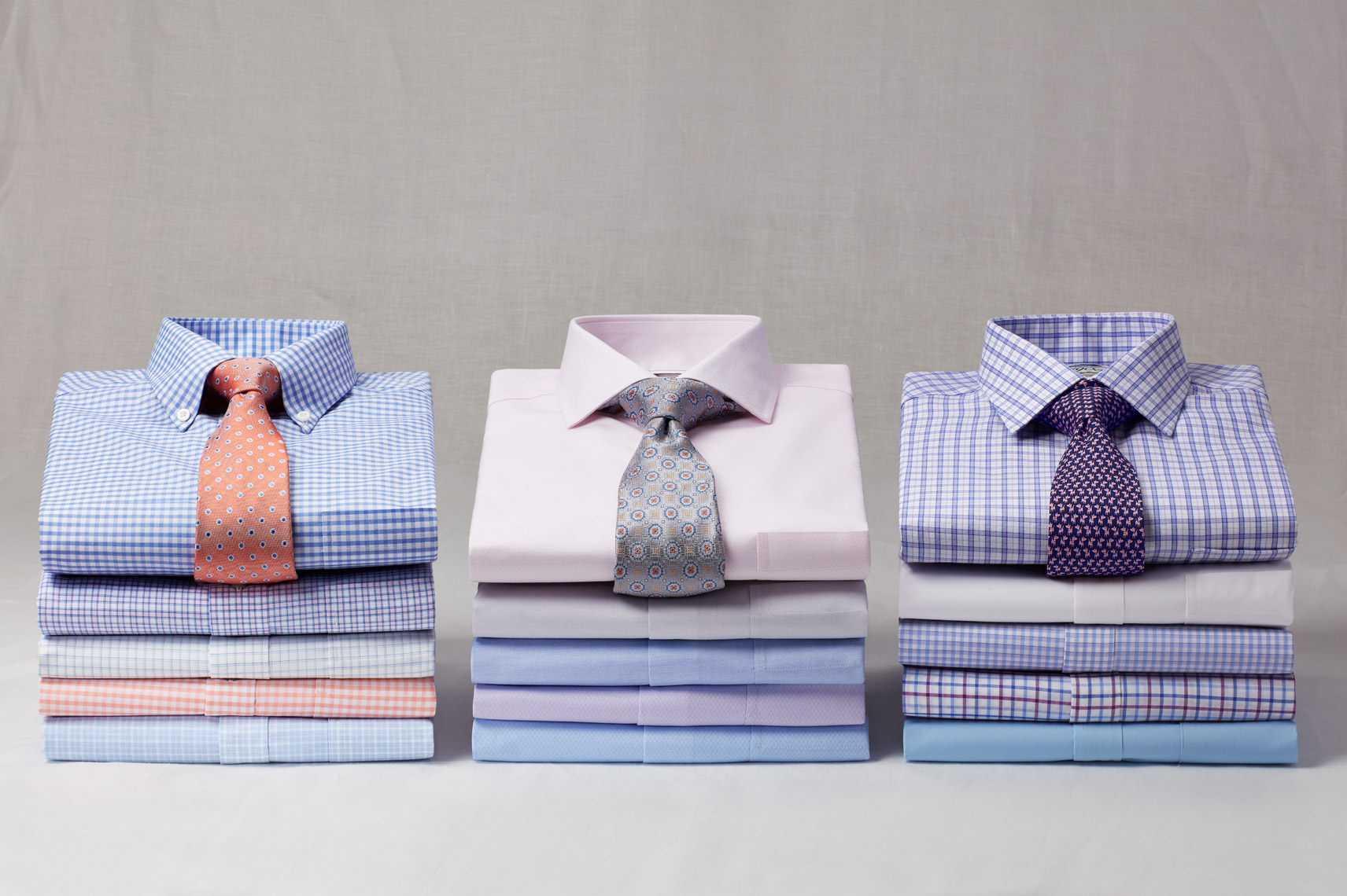 Dress Shirt Stack