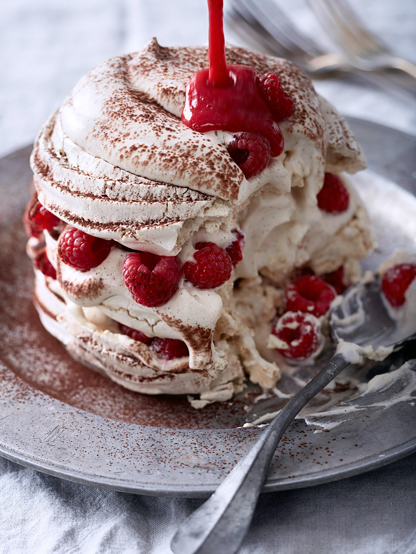 San Francisco Bay Area Restaurant Photographer | James Ellerker | Raspberry Meringue