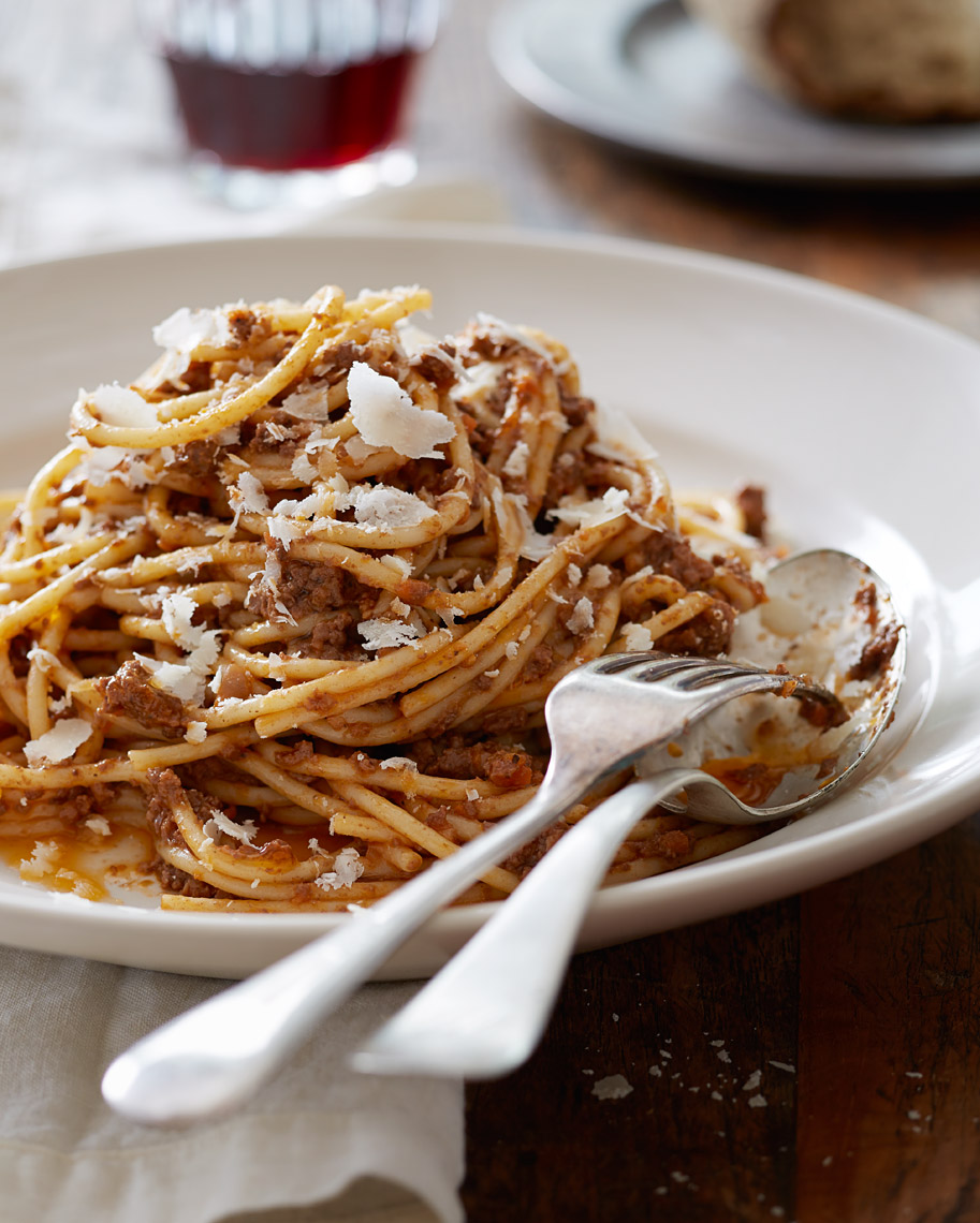Oakland Restaurant Photographer | James Ellerker | Pasta Bolognese