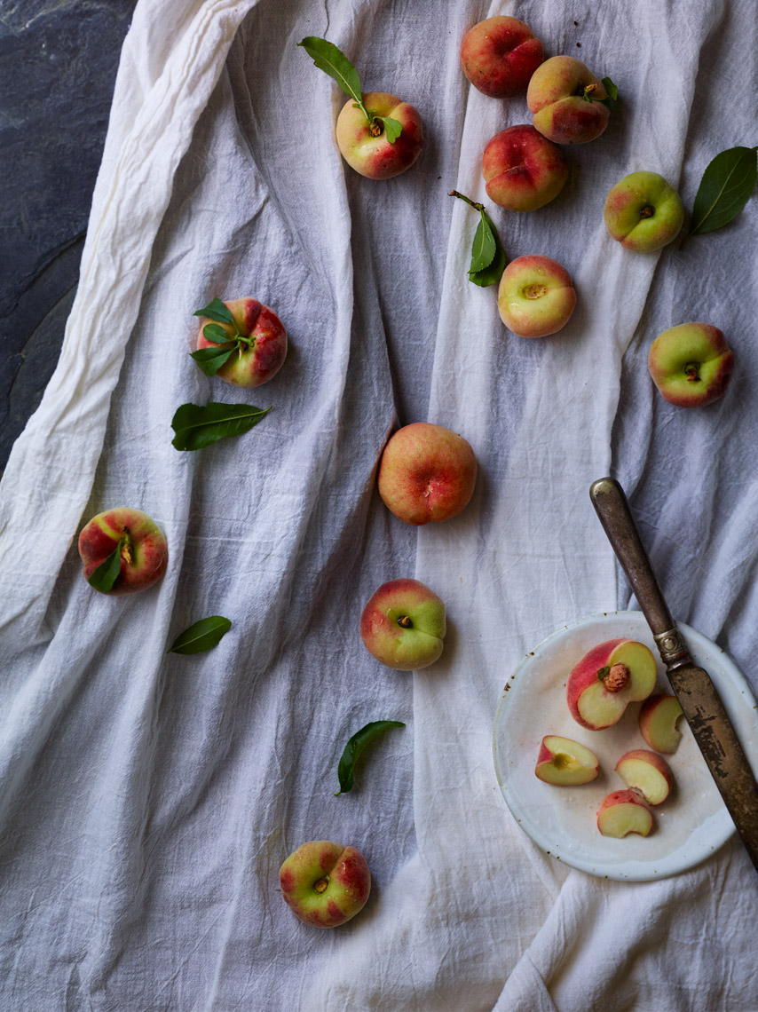 San Francisco Bay Area Food Photographer | James Ellerker | Peach