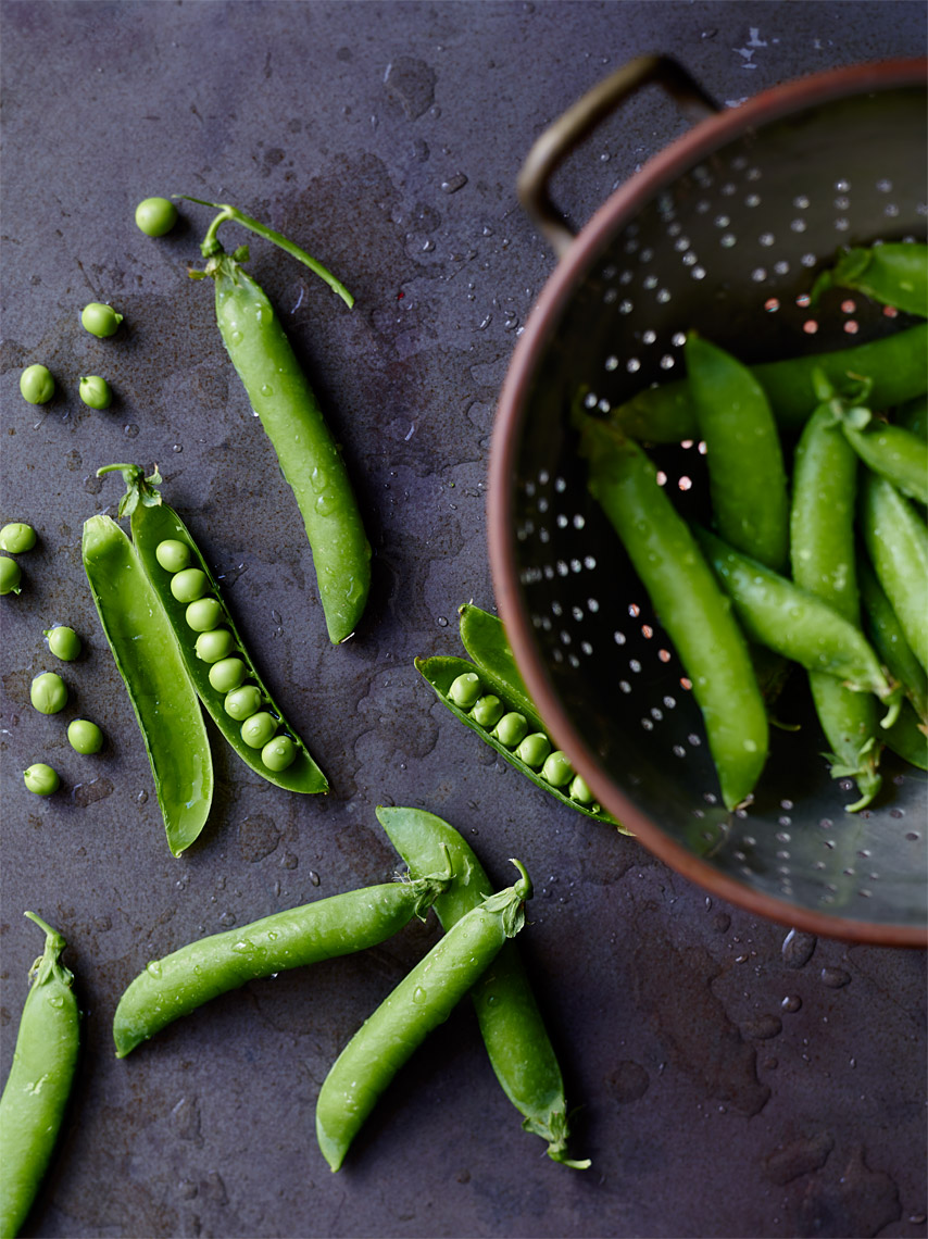 San Jose Bay Area Restaurant Photography | James Ellerker | Fresh Peas Pods