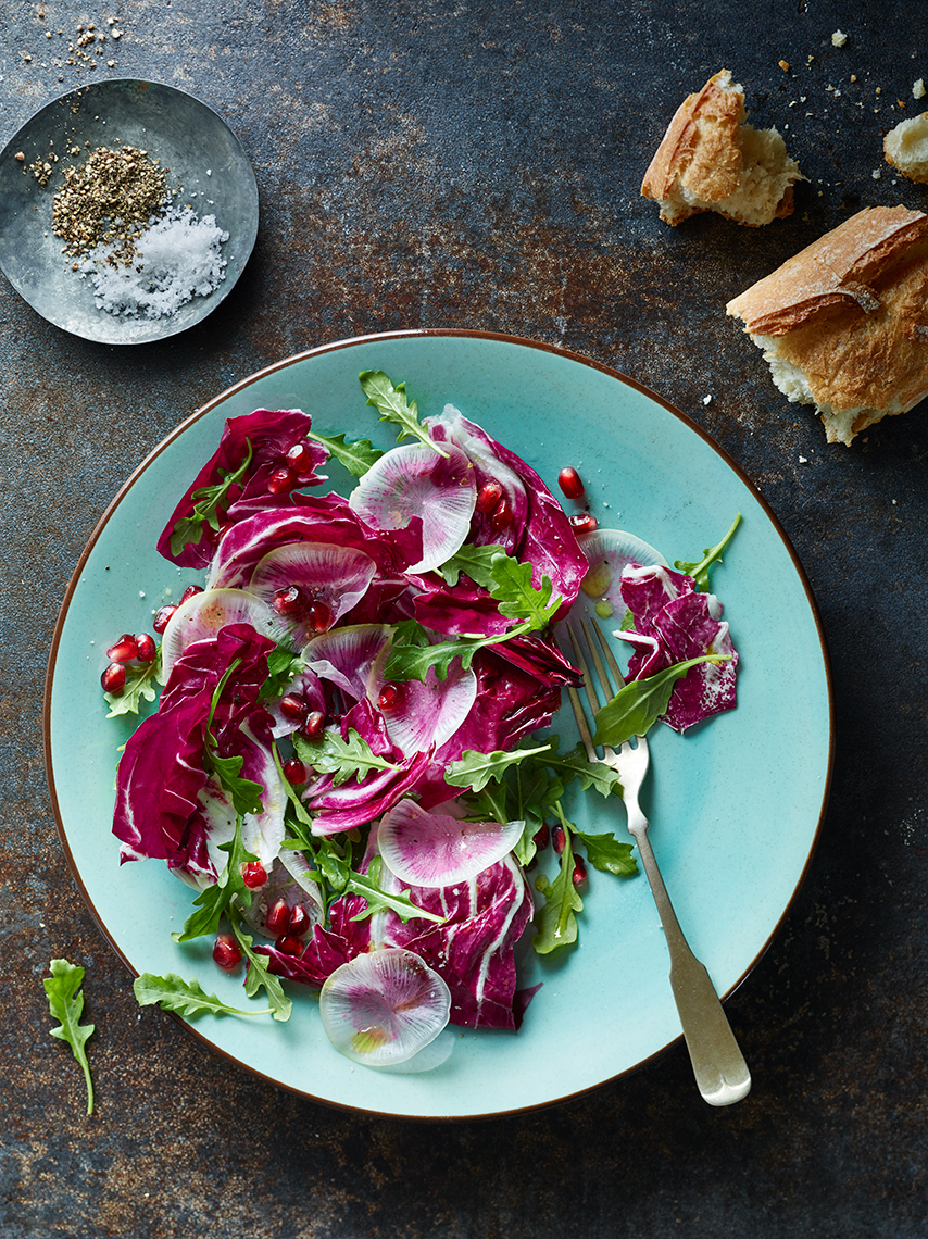 Bay Area Food Photography | James Ellerker | Radiccho Salad