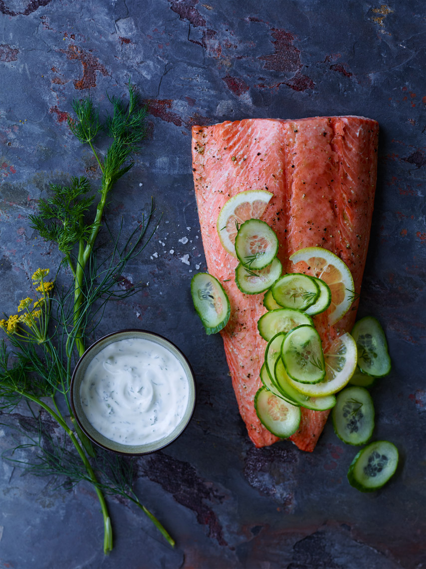 San Jose Food Photographer | James Ellerker | Grilled Salmon