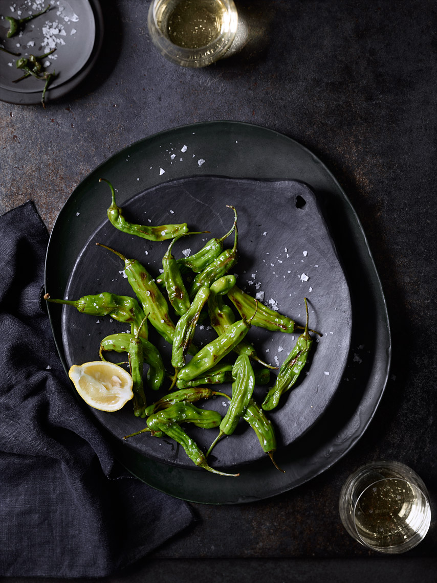 Bay Area Restaurant Photography | James Ellerker | Sashito Peppers