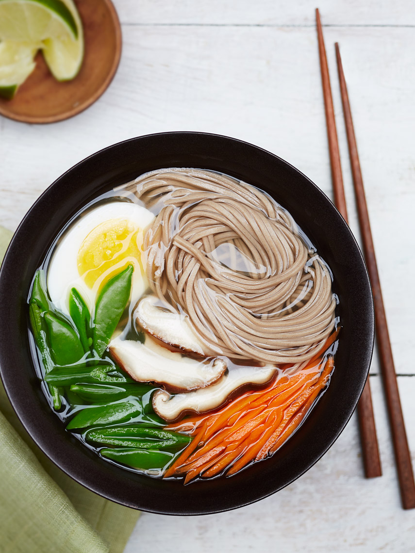 San Jose Bay Area Commercial Food Photographer | James Ellerker | Soba Noodles