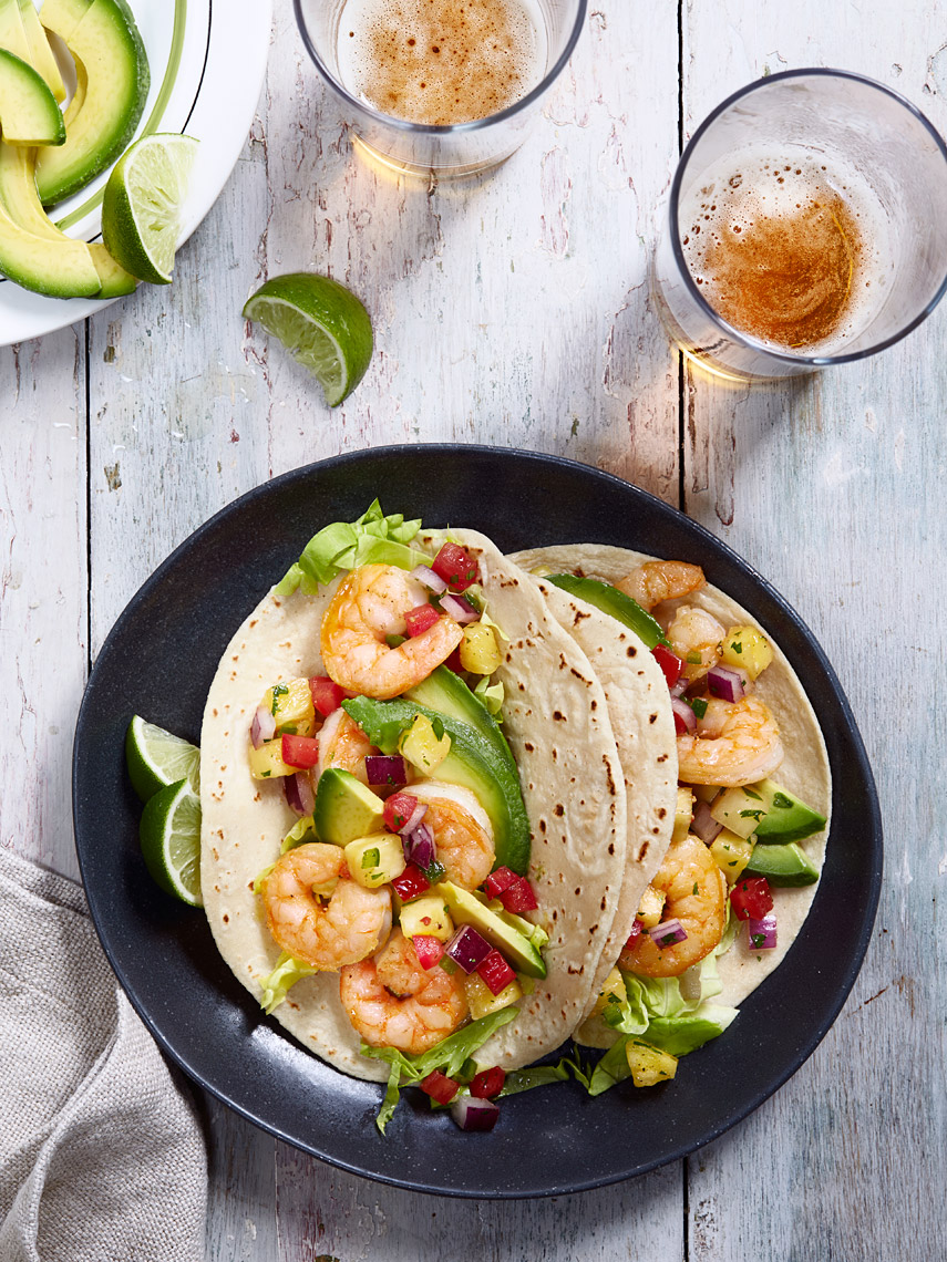 San Jose Bay Area Beverage Photographer | James Ellerker | Shrimp Tacos