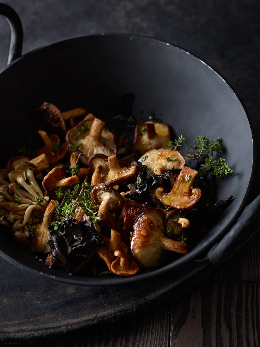Bay Area Food Photography | James Ellerker | Wild Mushrooms